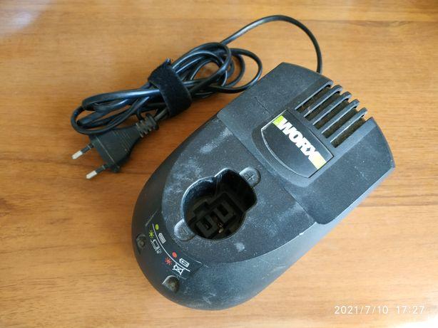 Зарядное устройство worx wa3812 для шуруповерта worx wu366