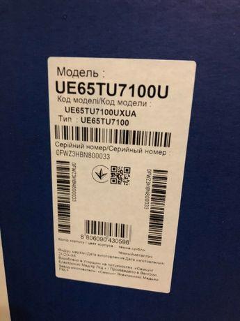 Телевизор Samsung UE65TU7100