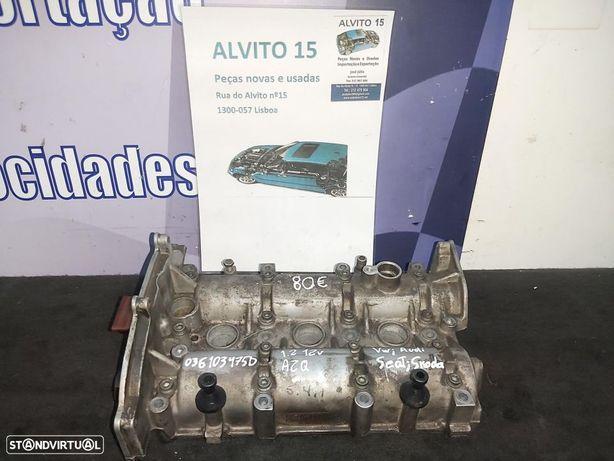 Tampa valvulas Arvore cames Volkswagen Audi Seat Skoda 1.2 12v AZQ  Ref: 036103475D