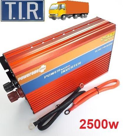 Автоинвертор 24v-220v 2500W. Преобразователь для мультиварки