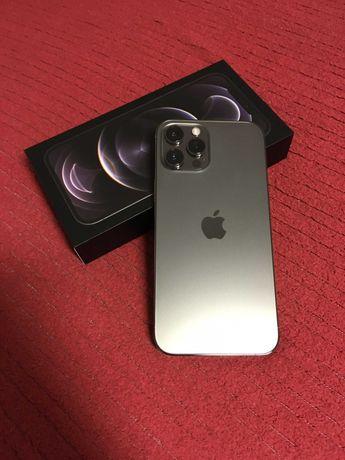 iPhone 12 Pro Max 256gb Grafite -Desbloqueado c/ garantia + Capa Apple