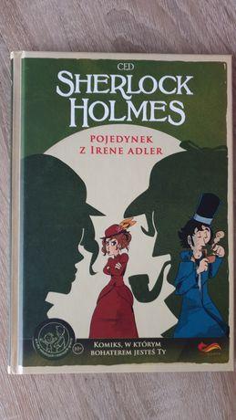 Sherlock Holmes pojedynek z Irene Adler komiks paragrafowy nowy
