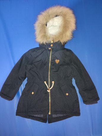 Парка утепленная , куртка