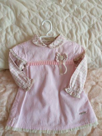 Vestido e Blusa Baby Maior 0/3 meses. Envio gratuito.