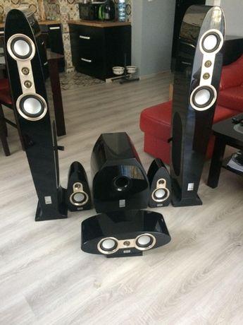 Głośniki, kolumny, kino domowe – KODA Harmony 5.1 czarny fortepian