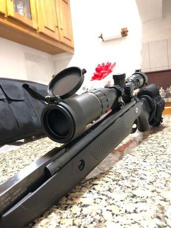 Mira telescópica arma espingarda carabina pcp pressão ar telescopia