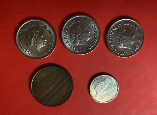 Монети Королівства Нідерландів. 1956 - 1995