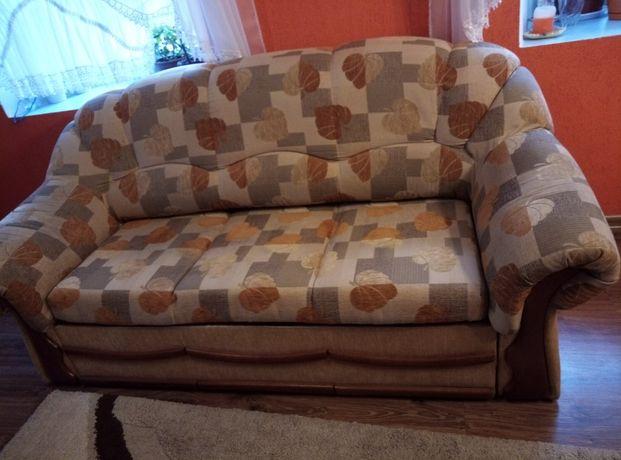 Zestaw wypoczynkowy. Sofa 3-ójka i dwa fotele z szufladami