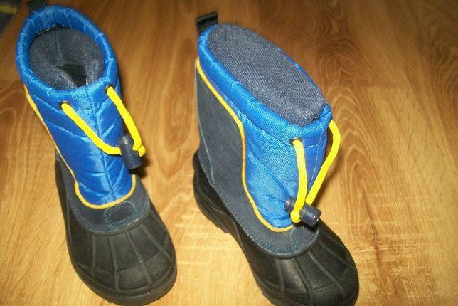Buty zimowe/ Sniegowce Columbia R.25 Chlopciece Nowe z usa
