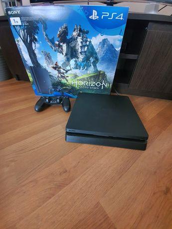 Sony PlayStation PS4 Slim 1TB + 6 gier stan konsoli jak nowa