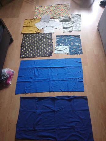 Materiały do szycia dzianina Jersey bawełna drapowana