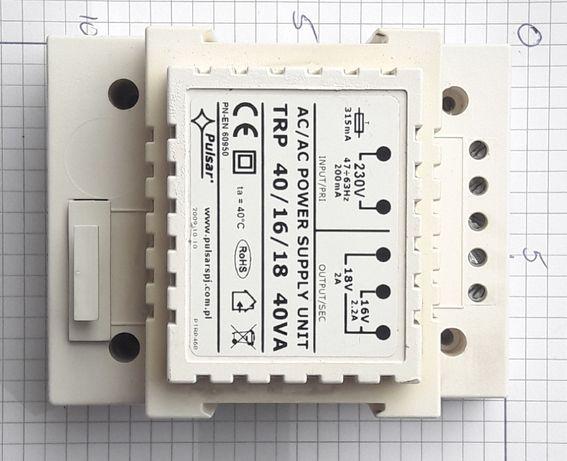 Transformator Trafo TRP40 40W 16/18V 2,2/2A
