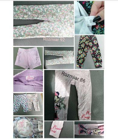Spodnie dla dziewczynki 86/92