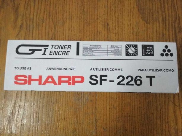 Тонер Sharp Black SF-226T
