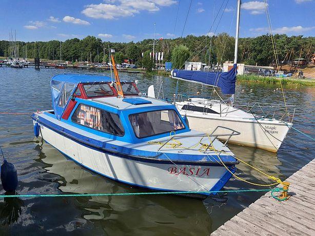 ONEDIN 650 Łódź Jacht kabinowy motorowy,przyczepa. Zamiana/