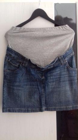 Spódnica ciążowa jeansowa c&a roz. 38/M