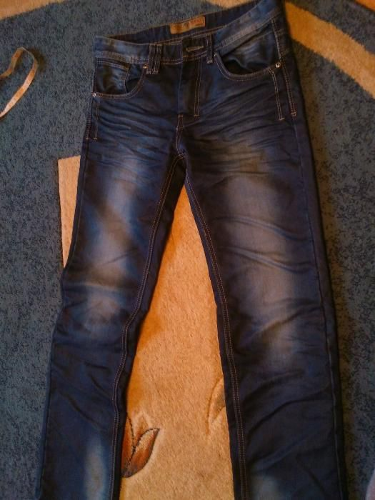 Spodnie dżinsy rozmiar 28 Łaszczówka - image 1