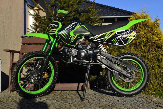 Cross 125 cc Duża rama Starter elektryczny Wysyłka TYLKO 3199!
