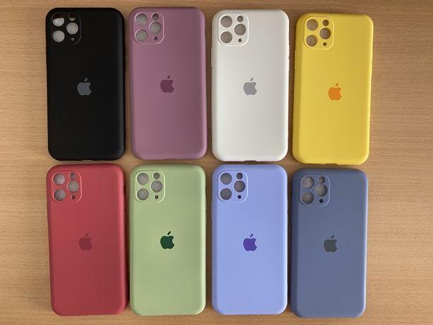 Capas iPhone 11 Pro silicone & proteção das câmaras