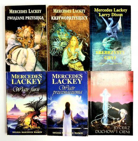 Mercedes Lackey - Wiatr furii, Związane przysięgą, Srebrzysty gryf...