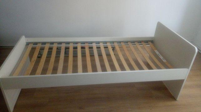 Łóżko Ikea 90x200 wraz ze stelażem.