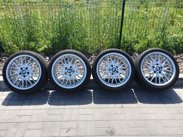 Оригинальные диски BMW стиль 72 M бмв разноширокие резина летняя 18