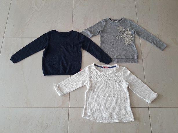 Sweter sweterek bluzka bluzeczka- zestaw 15 zł / całość
