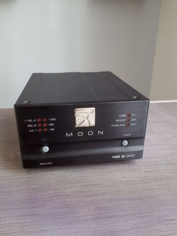 MOON 100D Przetwornik cyfrowo-analogowy SimAudio