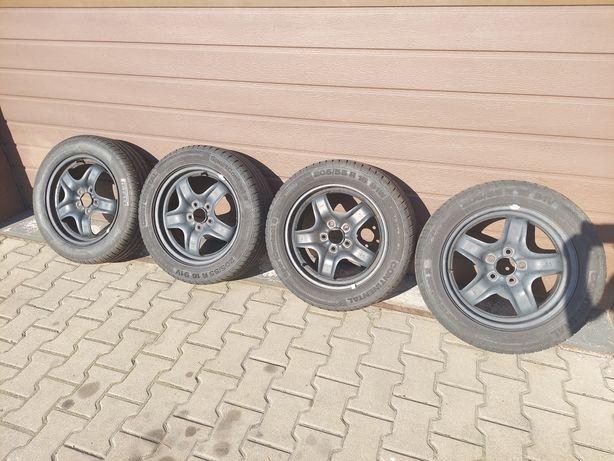 Felgi strukturalne z oponami koła 16 5x108 Ford #GarażowaWyprz