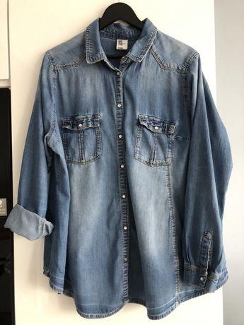Koszula jeansowa ciążowa H&M rozmiar XL