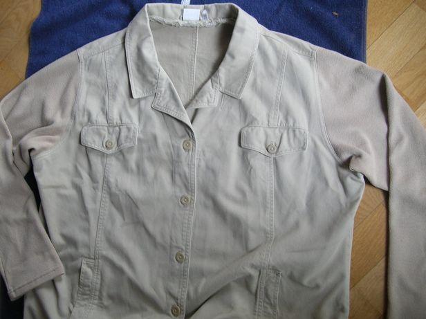 Damska kurtka jeansowa marynarka XXL katana bawełniana bluza vintage