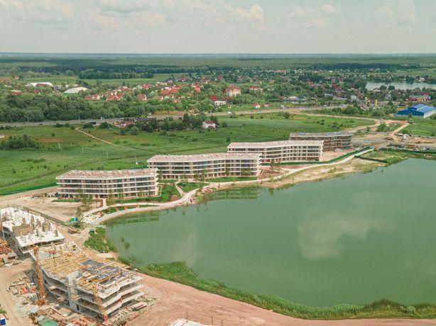 Просторная 2-комнатная квартира 75м2 в новом ЖК Park Lake City, без%
