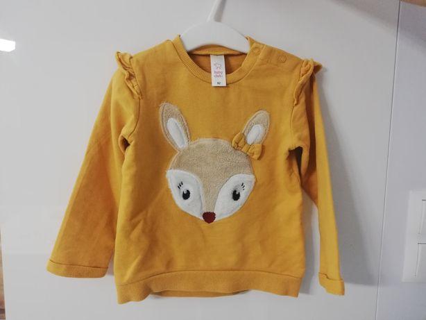 Bluza dziewczęca firmy C&A rozmiar 92