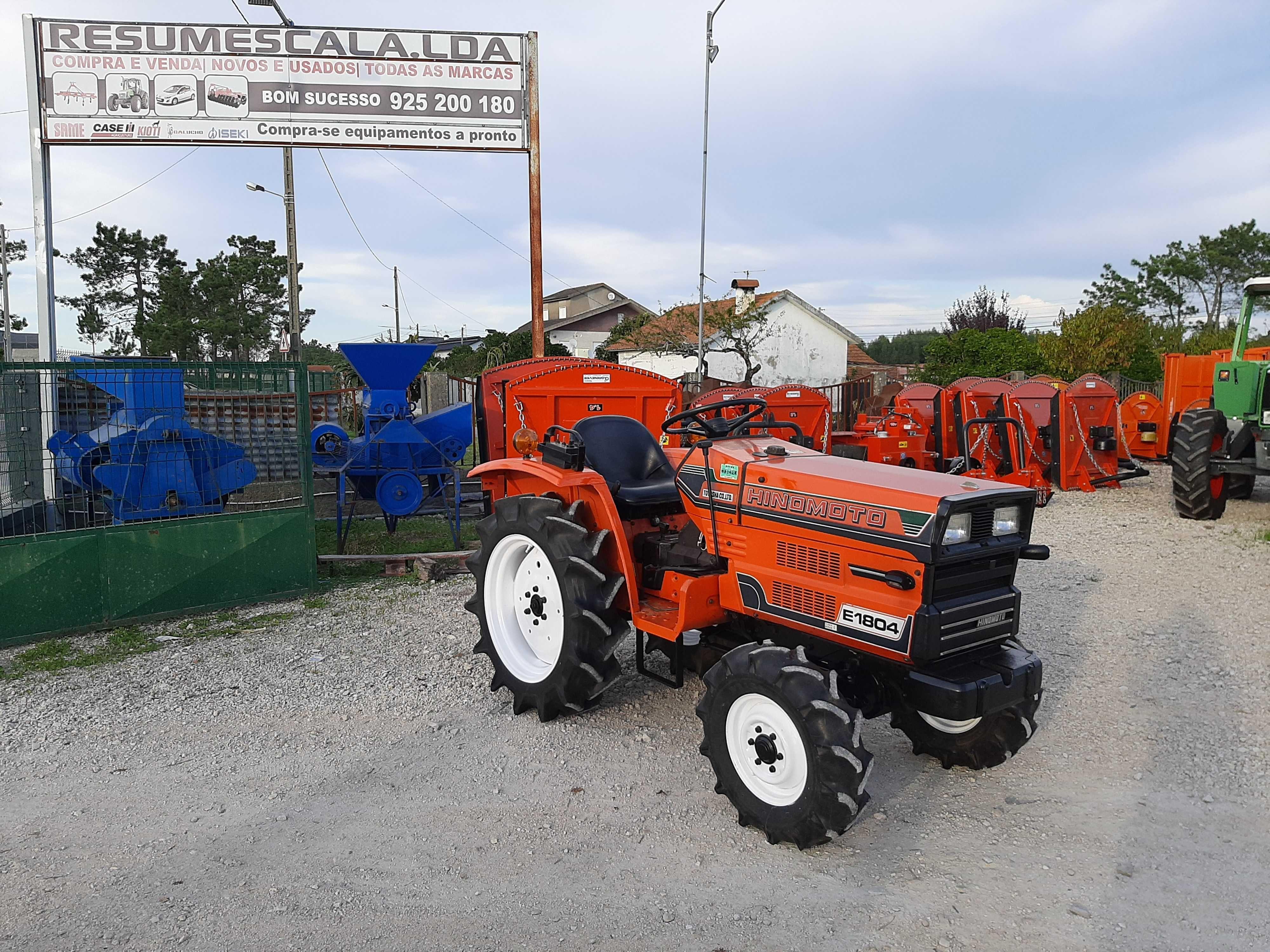 Tractor/Trator Hinomoto E1804