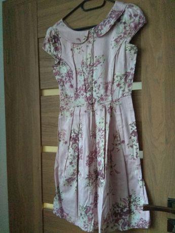 Letnia sukienka w kwiaty, TOP SECRET, 36