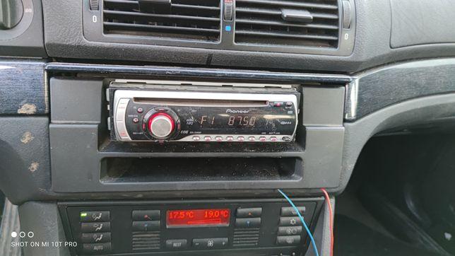 BMW E39 Radio Pioneer deh 2900mp plus wiązka i zaślepka