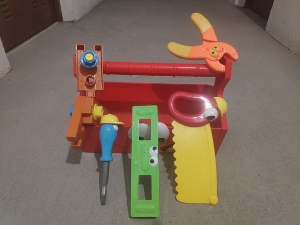 Brinquedo Caixa de Ferramentas+ Ferramentas