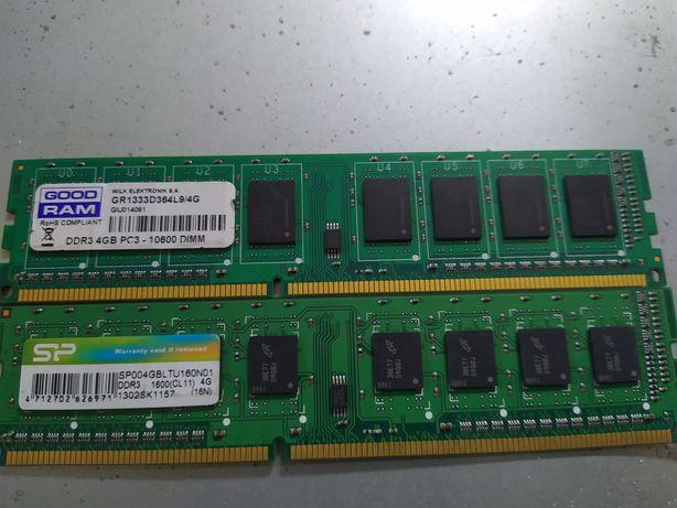 DDR 3 4 gb  2 штуки