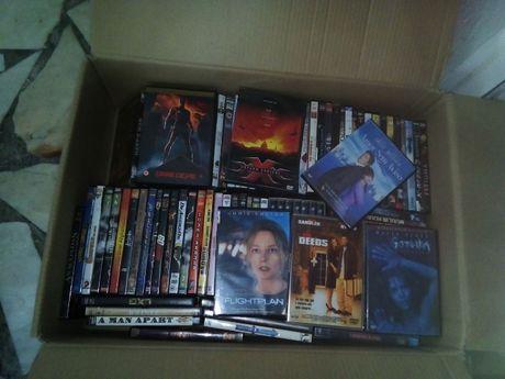 DVDs em filmes novos