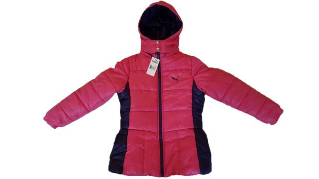 Куртка зимняя тёплая PUMA оригинал девочка