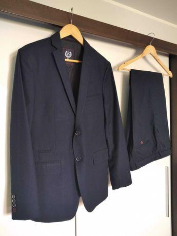 garnitur męski używany LAVARD wzrost 180 cm, rozm ~L