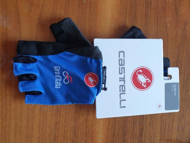 Rękawiczki kolarskieGIRO D'ITALIA 102/3AZZURRO włoskiej marki Castelli