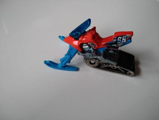 Skuter śnieżny Hot wheels, autko, samochodzik Mattel