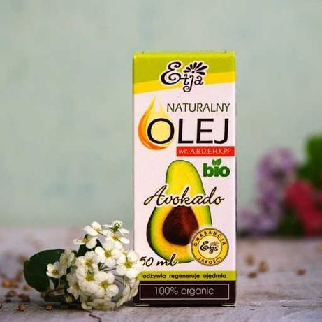 Olej Awokado BIO Etja 50 ml.