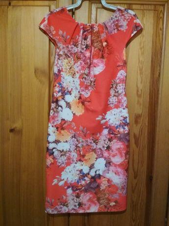 Kolorowa sukienka koktajlowa rozmiar XS/S