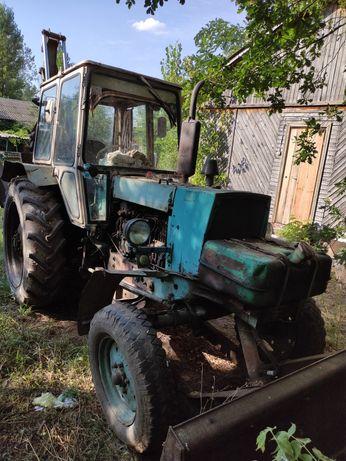 Трактор ЮМЗ петушок. 1991 года