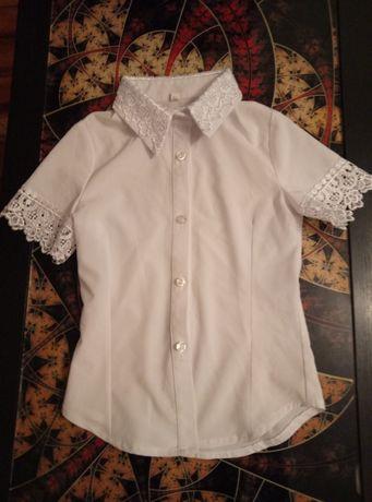 Нарядная школьная блуза