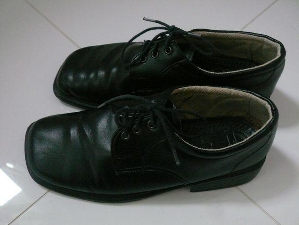 eleganckie buty lakierki rozmiar 36 czarne komunijne wyjściowe weselne