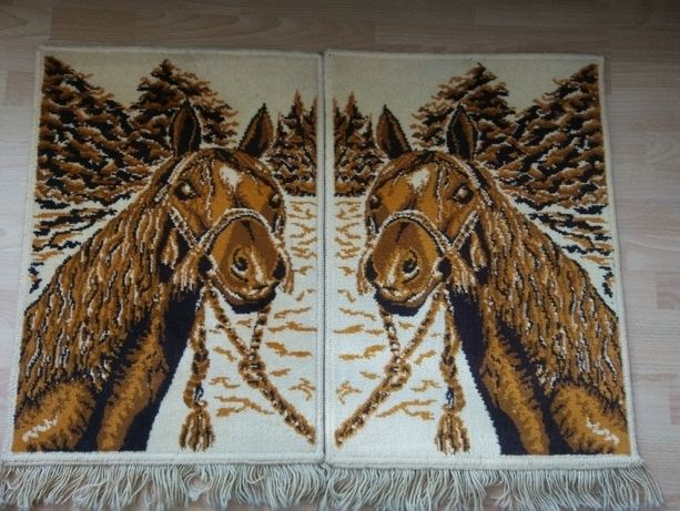 Dywaniki , dywany , Weltom , konie