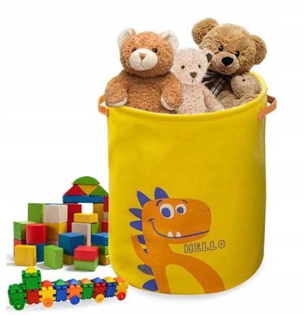 KOSZ na zabawki DINO pojemnik ściągany (D019)